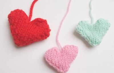 Knit Your Heart Out- Valentine's Day Knitting Project