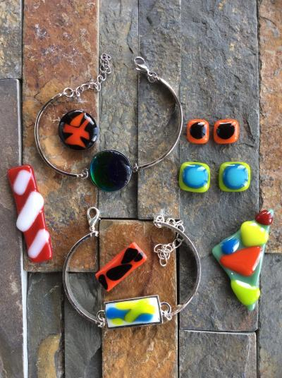 Fused Glass Beginning Jewelry