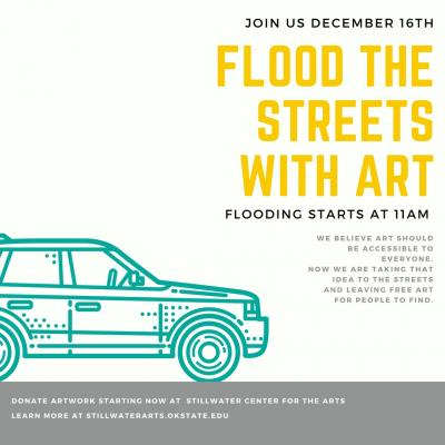 Flood the Streets with Art