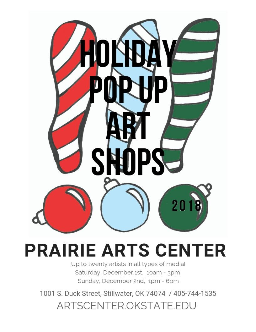 Holiday POP UP Art Shops