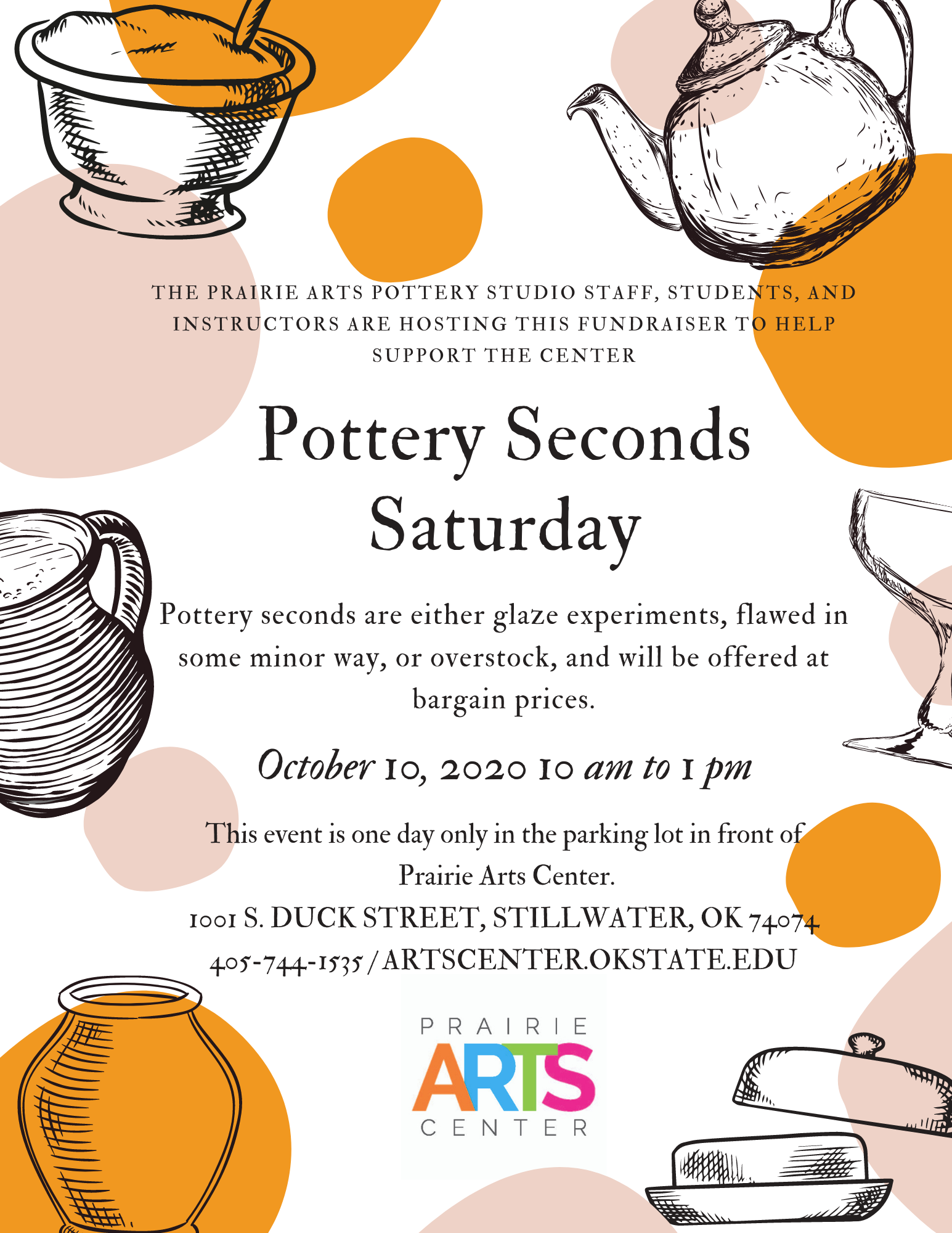 Pottery Seconds Flyer